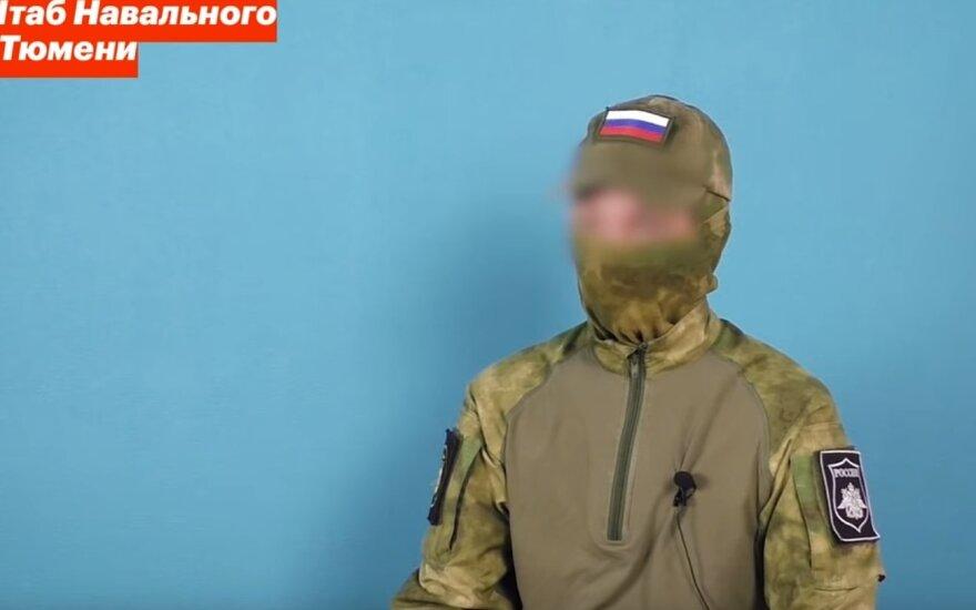 Rusijos kariai prisipažino esantys pasirengę šaudyti į protestuotojus: kitų variantų nėra