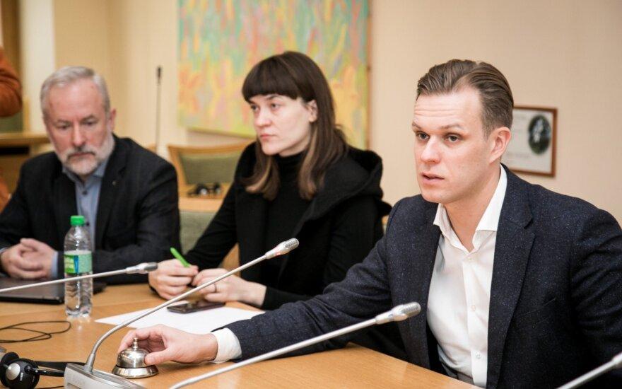 Jurgis Razma, Radvilė Morkūnaitė-Mikulėnienė, Gabrielius Landsbergis