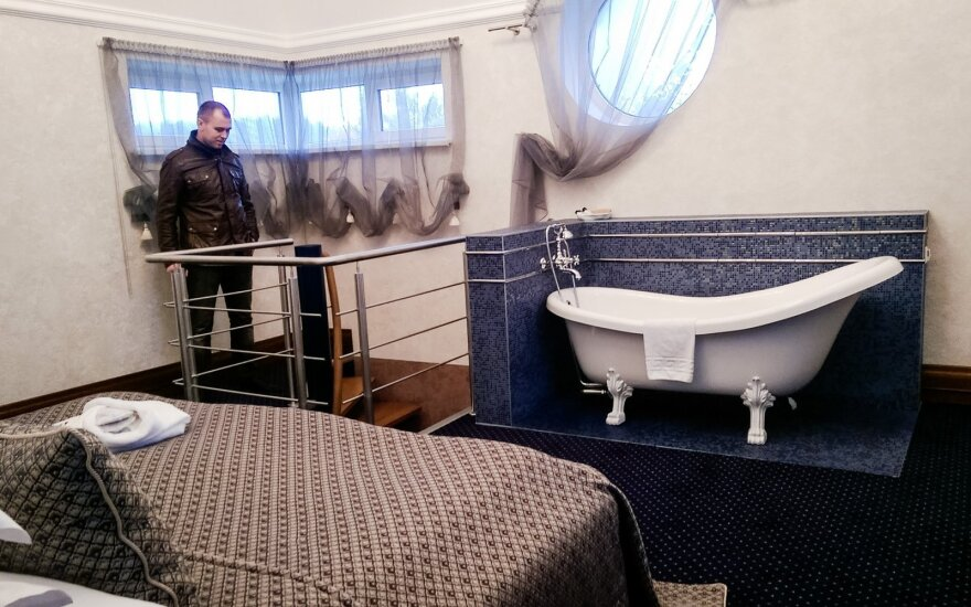 "Slapti ""Aqua"" kambariai"