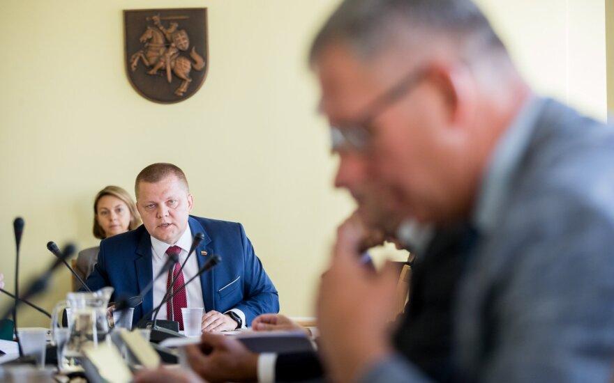 NSGK dėl Rozovos kilo tikras mūšis: nesirinko nei žodžių, nei kaltinimų