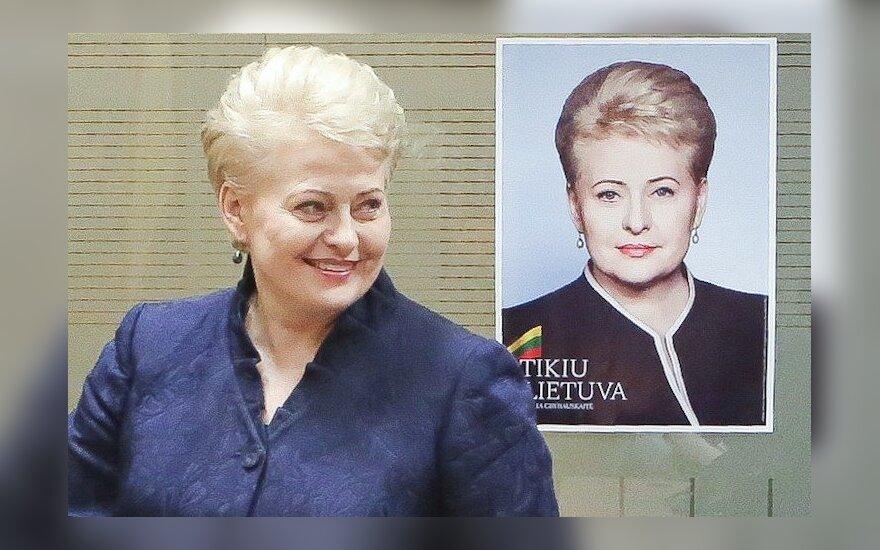 Veiksnys, nepalankiausias D. Grybauskaitei
