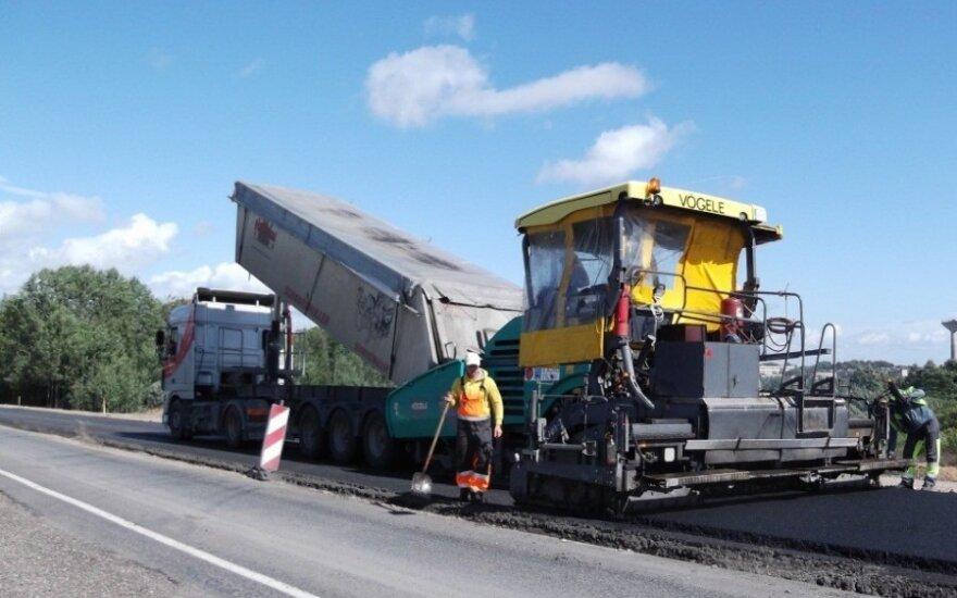 Žvyrkelių asfaltavimas