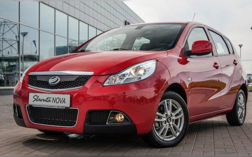 "Naujasis automobilis ""Slavuta Nova"""