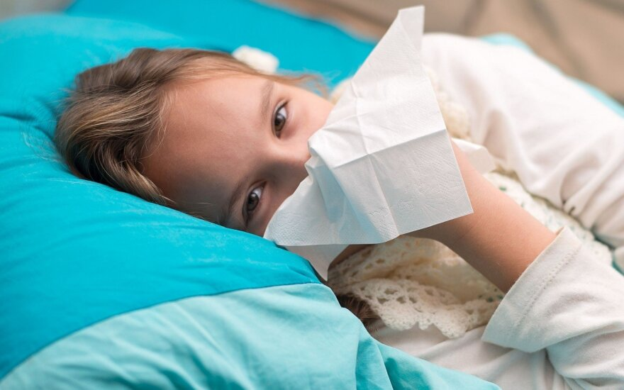 Flu epidemic declared in 18 out of 60 Lithuanian municipalities