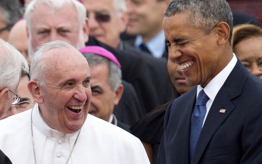 Popiežius Pranciškus, Barackas Obama