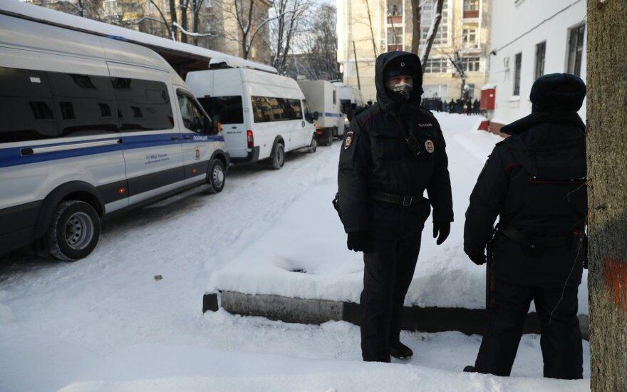 JT žmogaus teisių biuras ragina skubiai paleisti Navalną