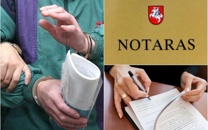 Notarams už kartelinį susitarimą – tūkstantinės baudos