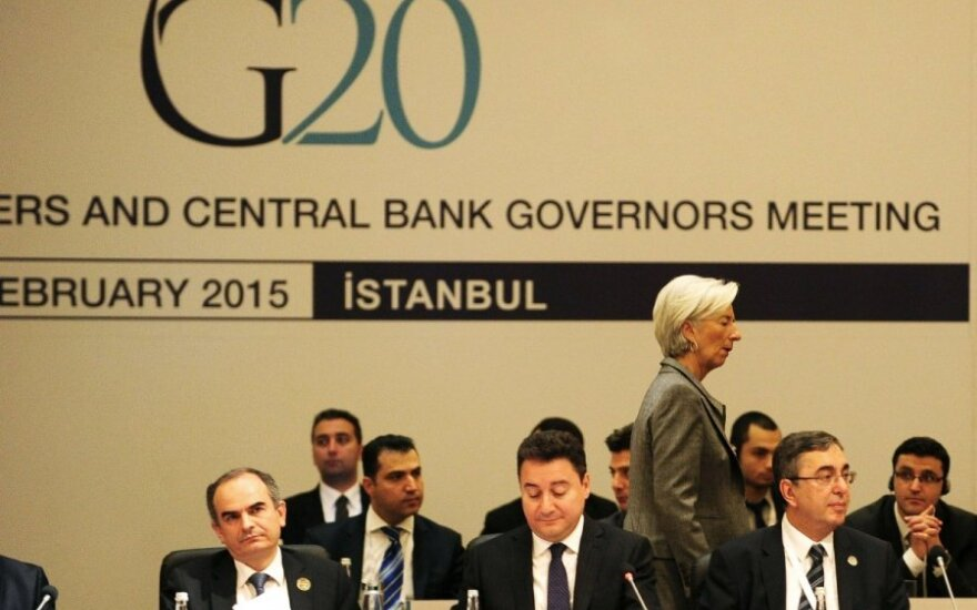 G-20 susitikimas Turkijoje