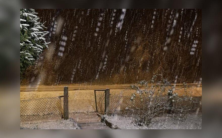 Sniegas Lietuvoje