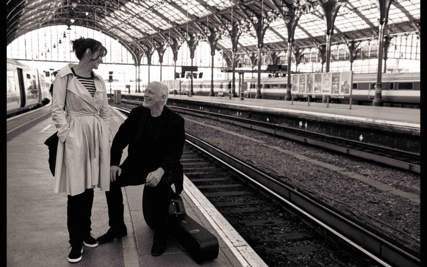 David Gilmour ir Polly Samson /Foto: Kevin Westenberg