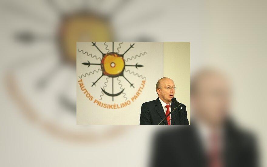 Teismas atmetė Tautos prisikėlimo partijos skundą dėl įstatų registravimo