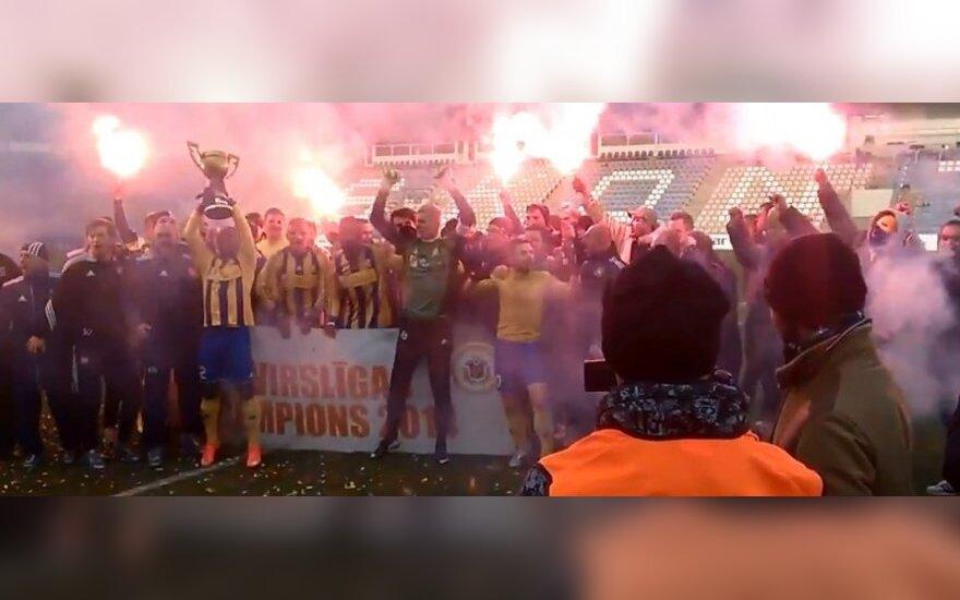 """""""Ventspils"""" klubas – Latvijos čempionas"""