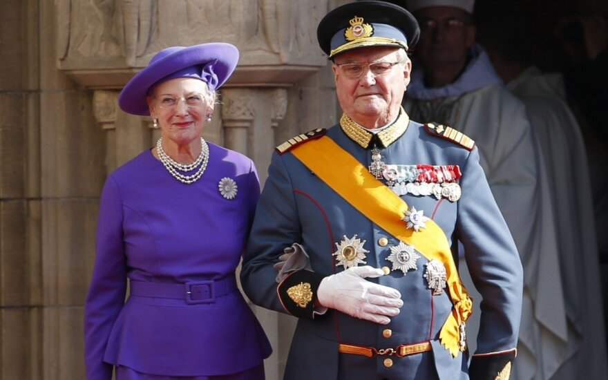 Mirė Danijos karalienės vyras princas Henrikas