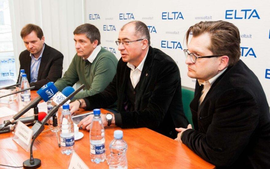 Lietuvos kartingo akademijos spaudos konferencija