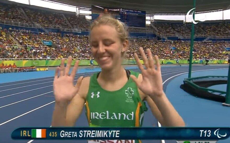 Europos čempione tapusi Štreimikytė: didžiuojuosi, kad ginu Airijos rinktinės garbę
