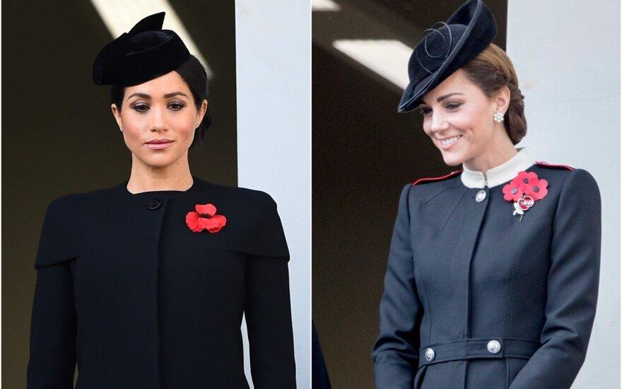 Britų karališkoji šeima minėjo Atminimo dieną
