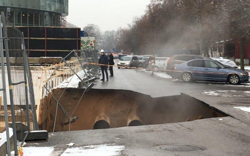 Vilniuje atšaukiama ekstremali situacija