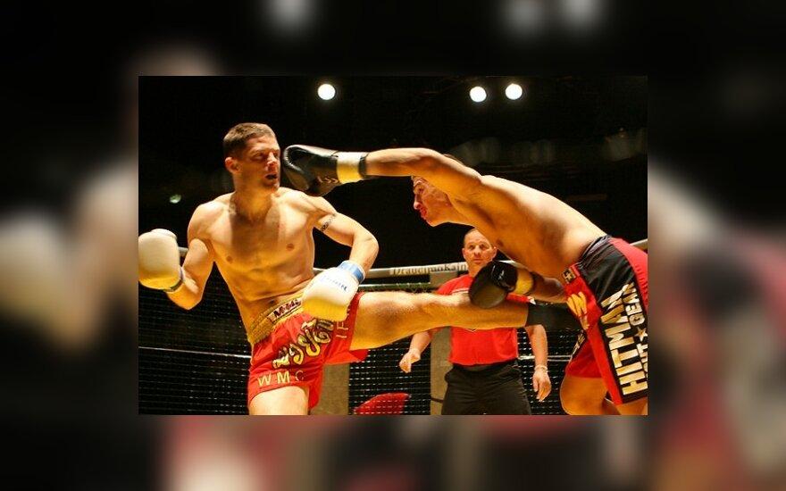 Realių kovų lygos MMA čempiono diržą iškovojo klaipėdietis S.Maslobojevas