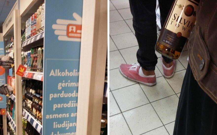 Seimas nusprendė: perkant alkoholį dokumentą privalės rodyti tik jaunimas