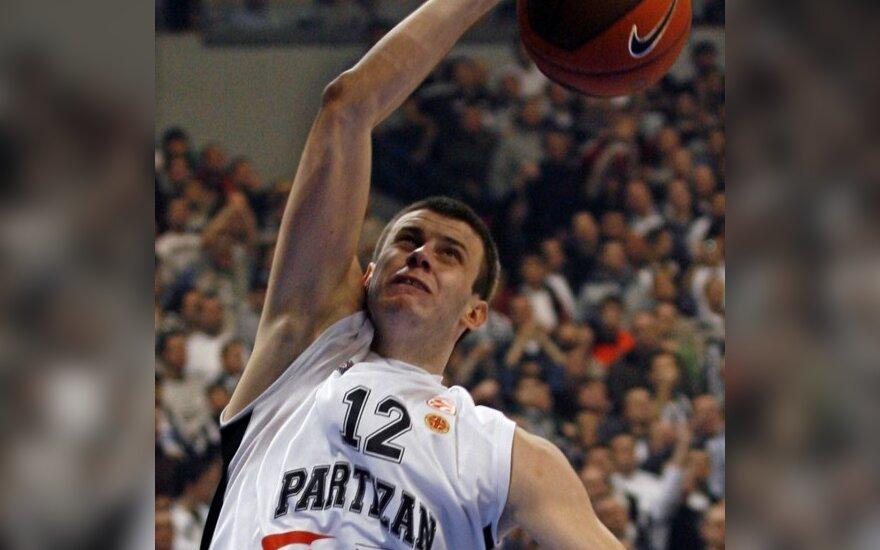 Serbijos krepšininkai atsirevanšavo vokiečiams
