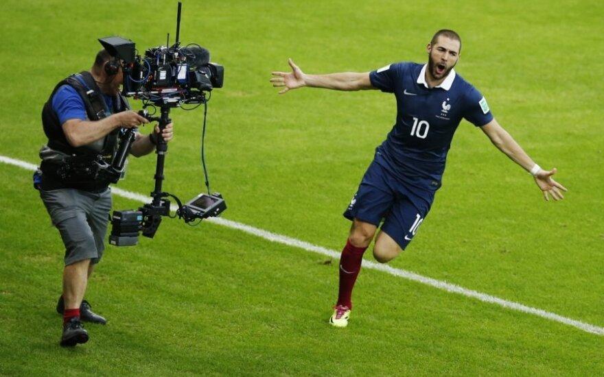 """K. Benzema tikisi vieną dieną laimėti """"Ballon d'Or"""""""