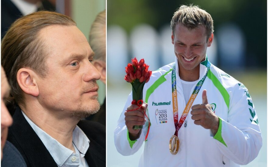 Romualdas Petrukanecas (kairėje), Jevgenijus Šuklinas