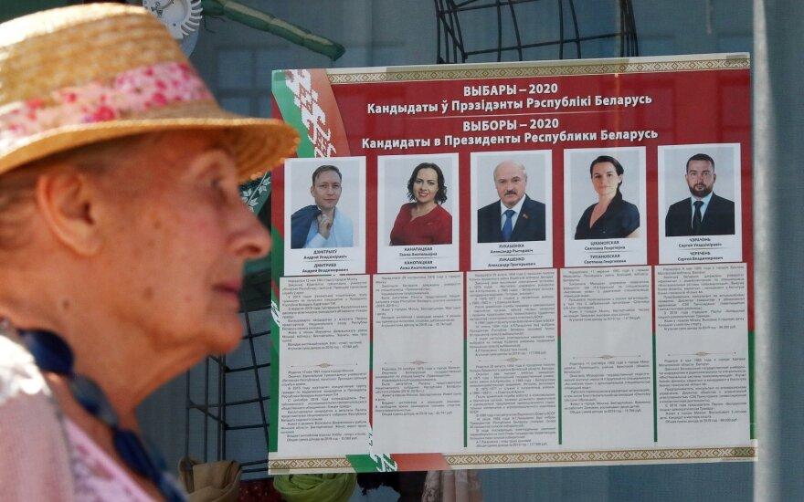 Rinkimai Baltarusijoje