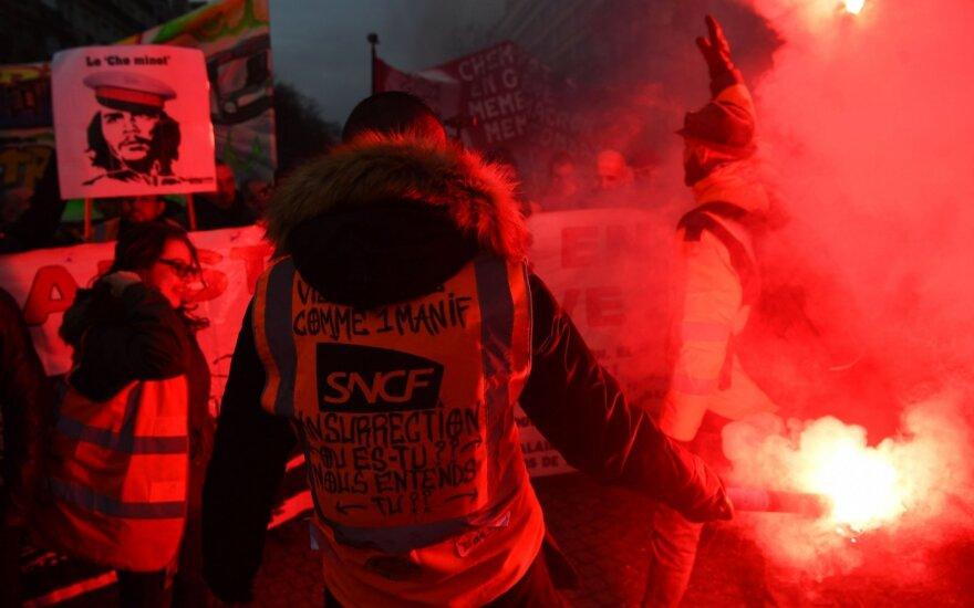 Streikai Prancūzijoje
