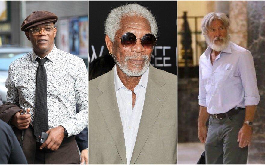 Samuel L.Jackson, Morgan Freeman, Harrison Ford