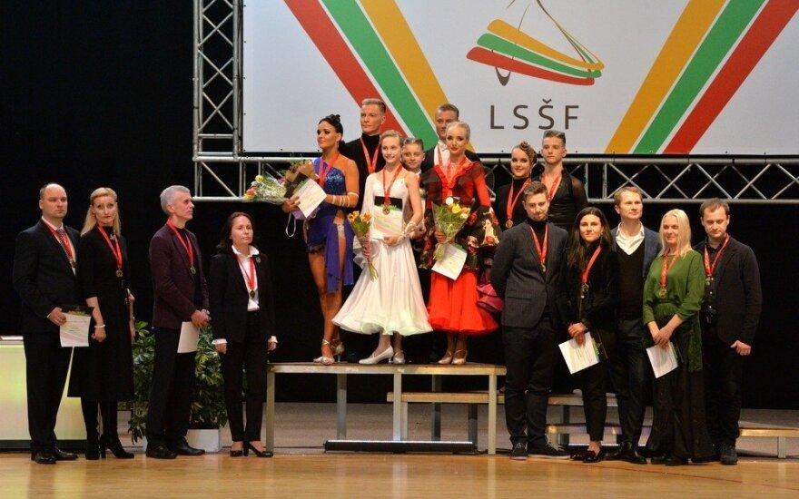Lietuvos 10-ies šokių čempionato nugalėtojai