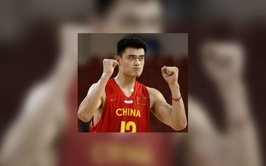 Yao Mingas triumfuoja