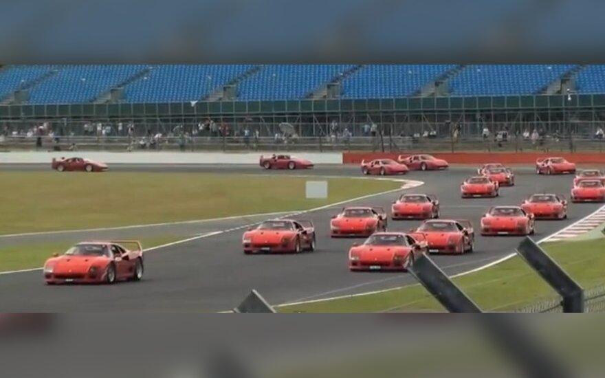 Ferrari paradas