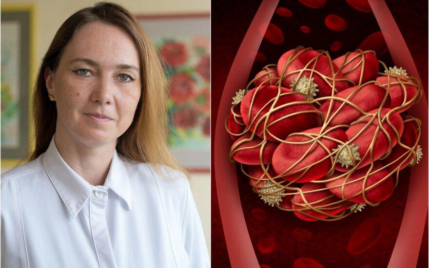 Irina Purtokaitė-Labutinienė teigė, kad ligos eiga buvo labai netipinė