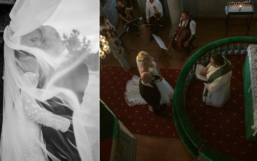 Ievos Jotkėlaitės ir Juozo Tubino vestuvės /Foto: Edita Nyork