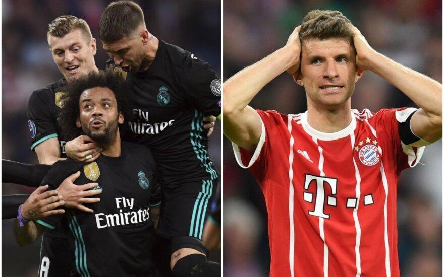 """Madrido """"Real"""" ir Thoas Mulleris"""