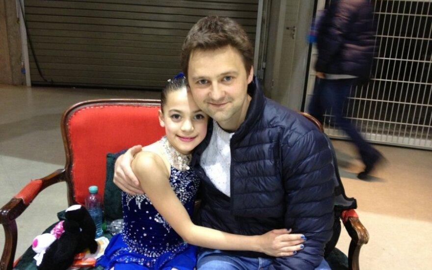 Selina Kaneda ir Dmitrijus Kozlovas
