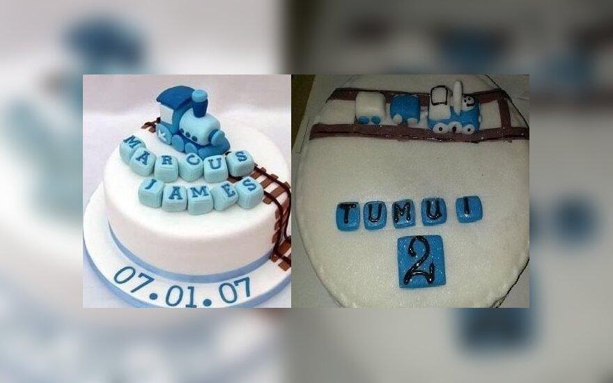 Pagal užsakymą iškeptą tortą buvo gėda neštis į šventę