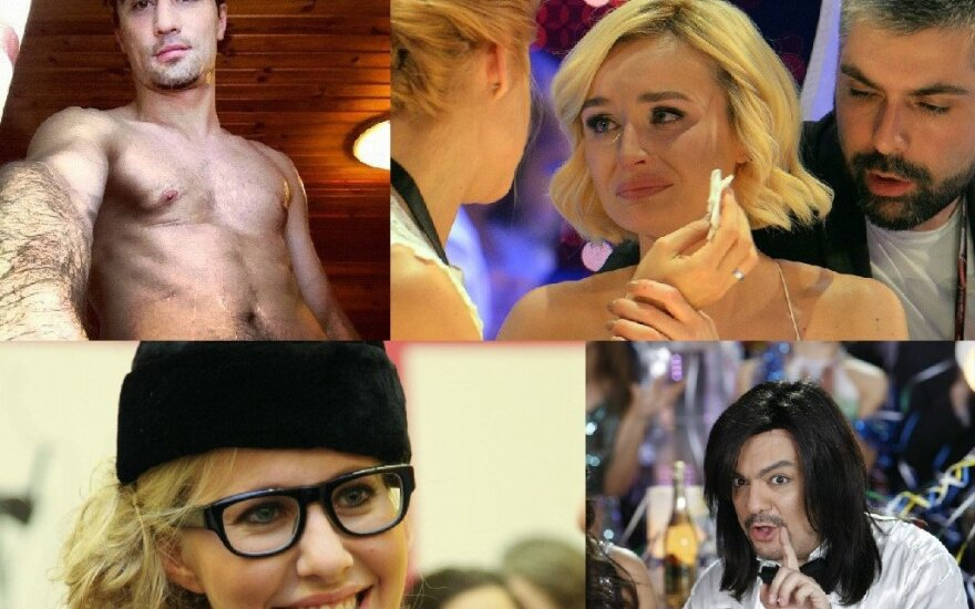 Dima Bilanas, Polina gagarina, Ksenija Sobčiak, Filipas Kirkorovas