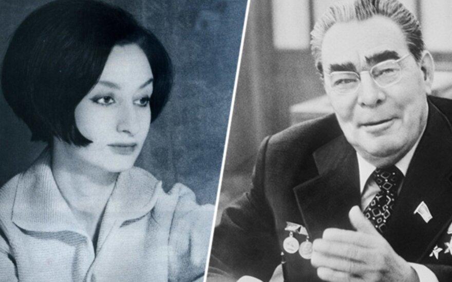 Iš anksto pasmerktas Brežnevo dukterėčios romanas: kodėl jai buvo užkirstas kelias tekėti už pirmosios meilės?