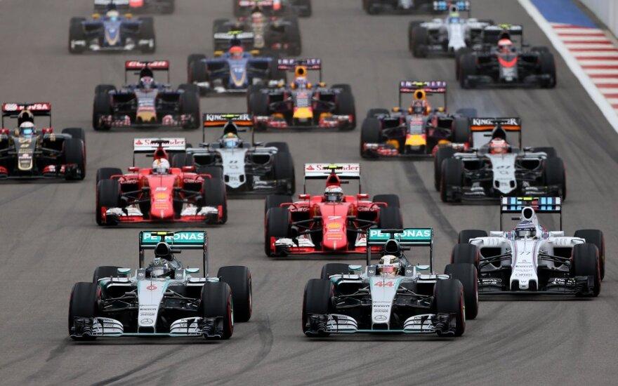 F-1 Rusijos GP etapo lenktynės