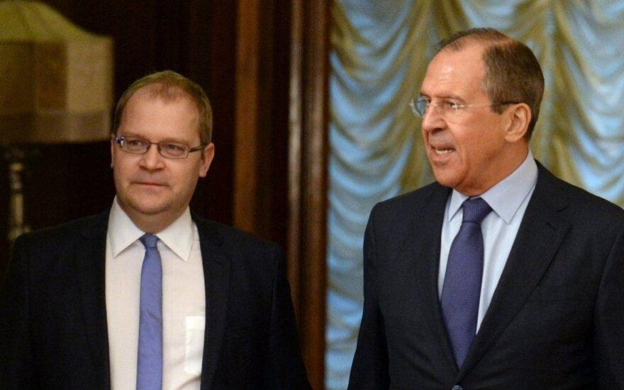 Sergejus Lavrovas ir Urmas Paetas