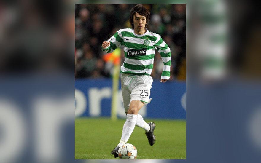 """Shunsuke Nakamura (""""Celtic"""")"""