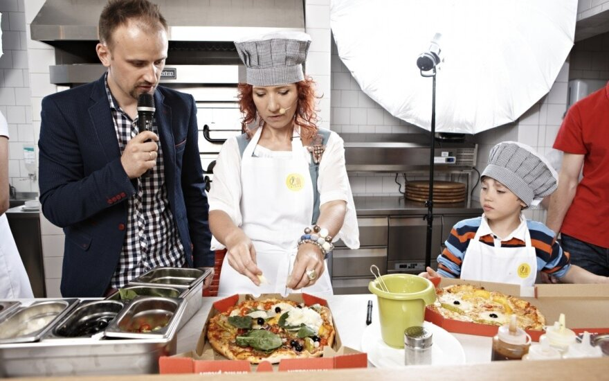 Gausioms šeimoms - žinomų žmonių sukurtos picos