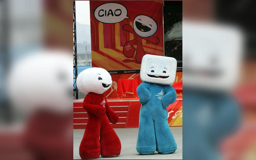 Turino Žiemos Olimpinių Žaidynių simboliai