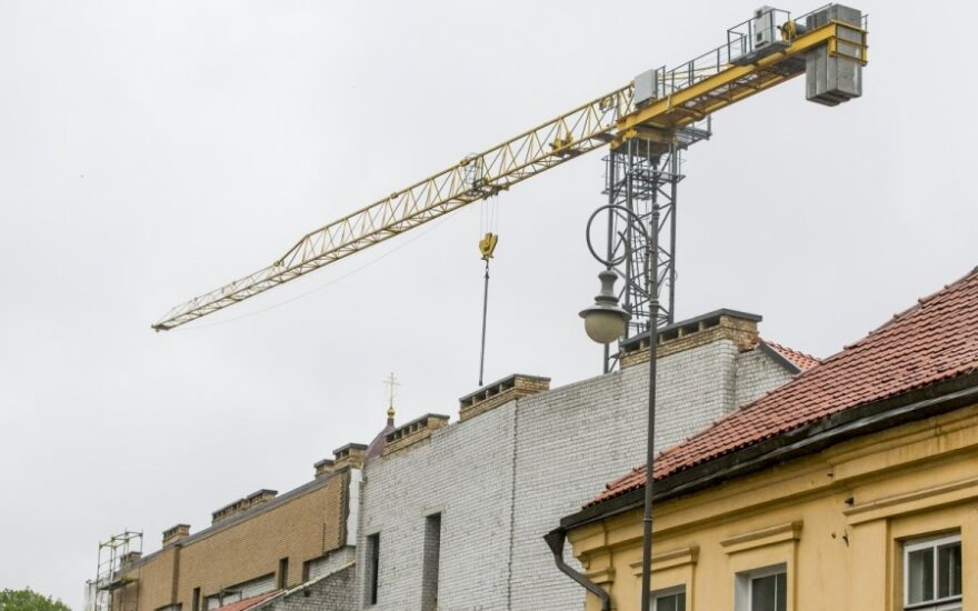 Construction work volume on the increase in Lithuania
