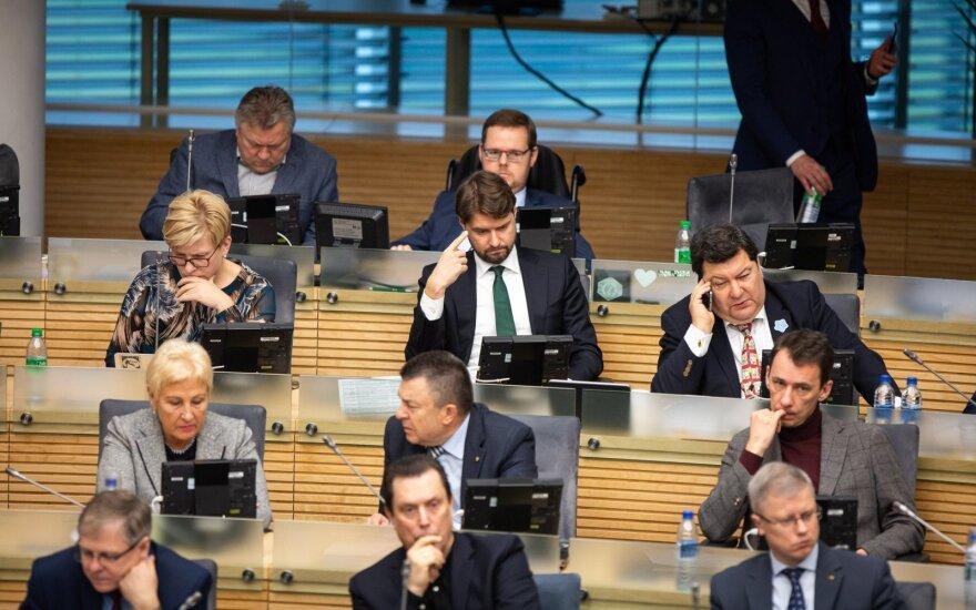 Seimas įteisino turto civilinį konfiskavimą