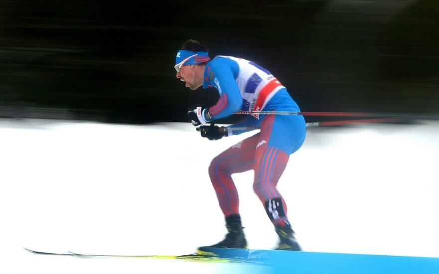 Nepavejamas rusas: S. Ustiugovas iškovojo rekordinę pergalę