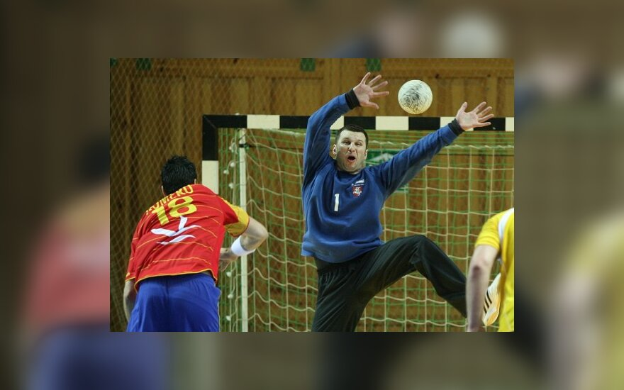 Pasaulio čempionato atrankoje Lietuvos rankininkai kovos su turkais ir makedonais