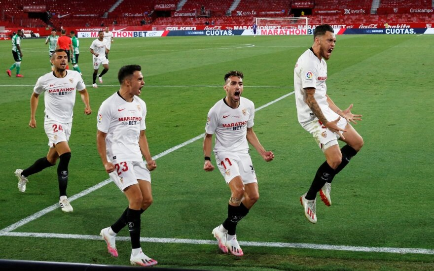 """Sevilla"" futbolininkai"