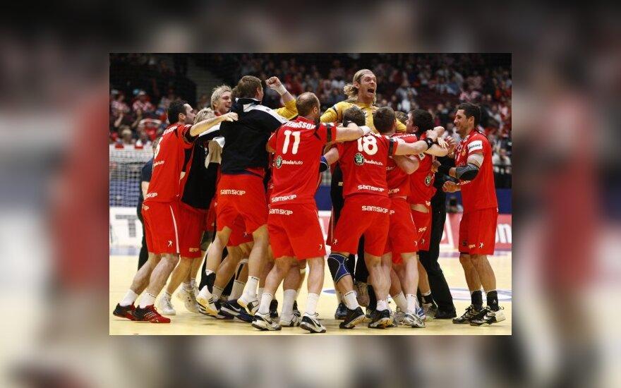 Islandijos rankininkai – pirmą kartą pusfinalyje